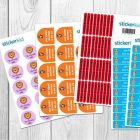 """""""Camp Pack"""" of 150 labels"""